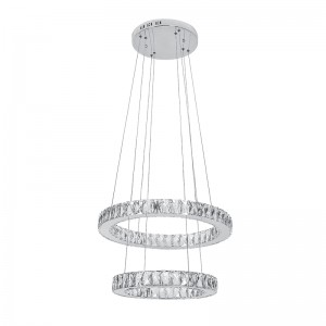 CHANDELIER LED GLOSSY 72W/400K CHROME